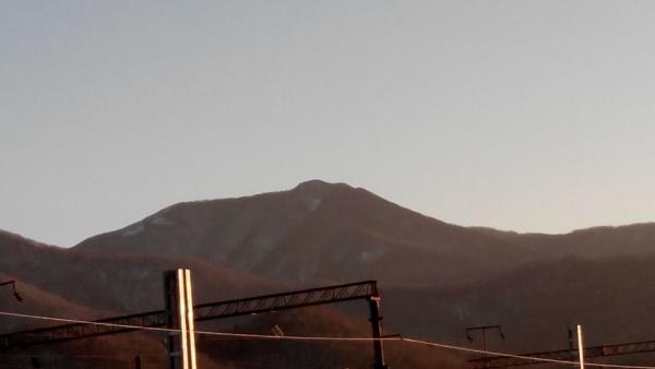 Вид на гору.