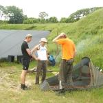 палатка мала